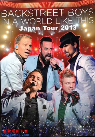 4105-LSQT BackStreet Boys – In A World Like This Japan Tour